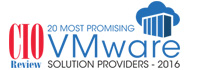 20 Most Promising VMware Solution Providers - 2016